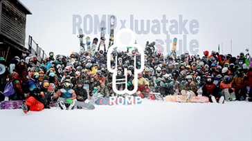2014 ROMP Snow Films_Iwatake style with ROMP
